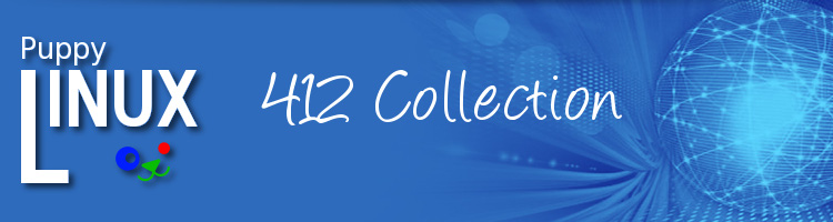 Puppy Linux 412 Collection - Utility